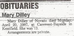 Mary Martha <i>Kern</i> Dilley