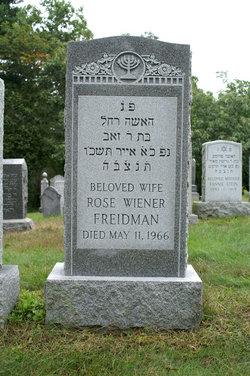 Rose <i>Wiener</i> Freidman