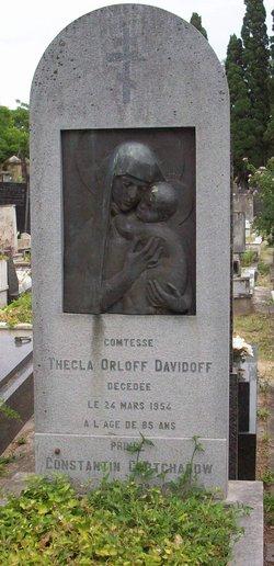 Thecla <i>Staal</i> Orloff Davidoff