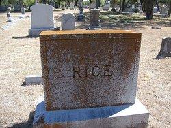 Benjamin Herbert Rice