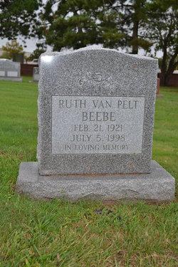Ruth <i>Van Pelt</i> Beebe