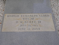 Morgie Elizabeth <i>Cloud</i> Bailey