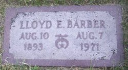 Lloyd E. Barber