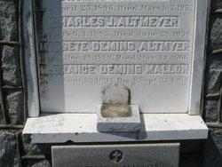 Margaret <i>Deming</i> Altmeyer
