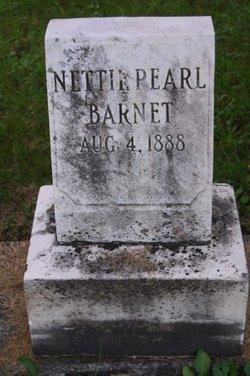 Nettie Pearl Barnet