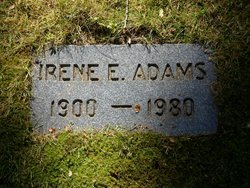 Irene E Adams
