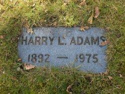 Harry L Adams