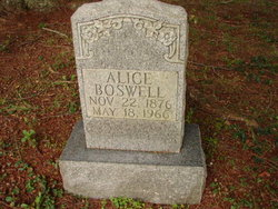 Alice Boswell