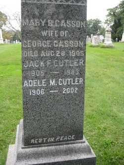 Adele M. <i>Casson</i> Cutler