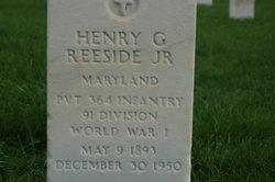 Henry G Reeside, Jr
