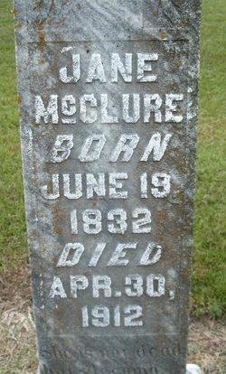 Jane <i>Baldwin</i> McClure