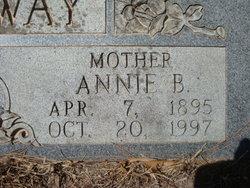 Annie Beatrice <i>Musgrove</i> Attaway