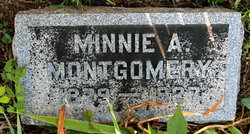 Minnie A. Montgomery