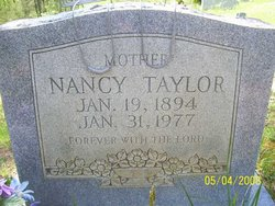 Nancy M <i>Baker</i> Taylor