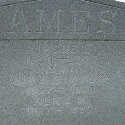 Ada B <i>Simmons</i> Ames