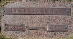 Bertha May Forbes