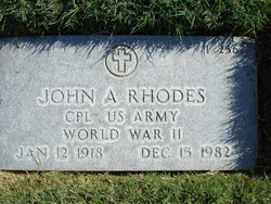John A Rhodes