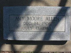 Amy <i>Moore</i> Allen