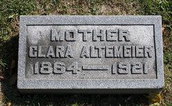 Clara <i>Kienzle</i> Altemeier