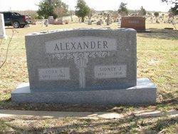 Cora S <i>Baker</i> Alexander