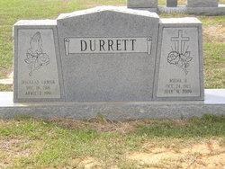 Melva <i>Rasbury</i> Durrett