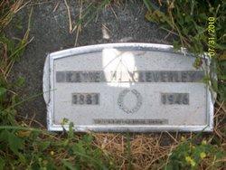 Katherine Eunice Katie <i>Mitchem</i> Cleverley