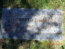 Loretta Elizabeth <i>Hughes</i> Harden