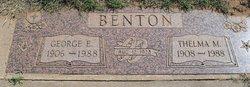 Thelma Margaret <i>Patton</i> Benton