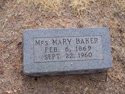 Mary Elizabeth <i>Moorehead</i> Baker