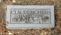 Claude Richard Hamilton