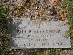 Paul B Alexander