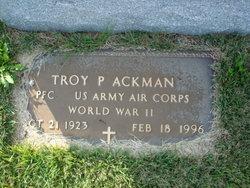 Troy Paul Ackman