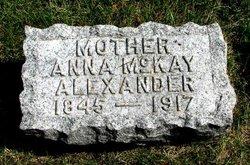 Anna McKay <i>Turner</i> Alexander