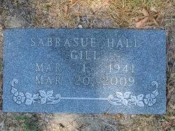 Sabrasue <i>Hall</i> Gill