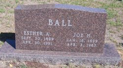 Esther A. <i>Chism</i> Ball