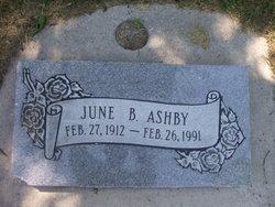 June <i>Burton</i> Ashby