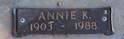 Annie Kate <i>Rowland</i> Adams
