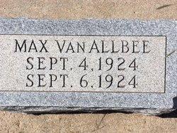 Max Van Allbee