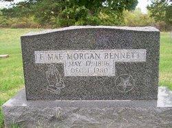 E Mae <i>Morgan</i> Bennett