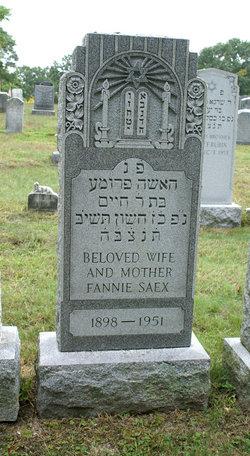 Fannie <i>Phillips</i> Saex
