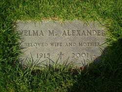 Velma Marie <i>Nelson</i> Alexander