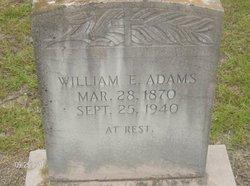 William Edward James Adams, Jr