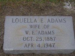 Louella E <i>Hoffman</i> Adams