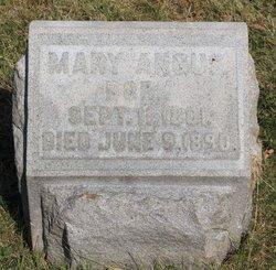 Mary <i>Burdge</i> Angus