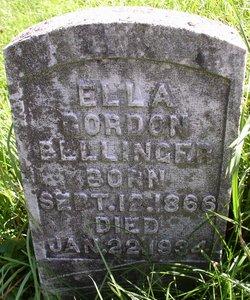 Ella <i>Gordon</i> Bellinger