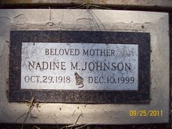 Nadine M. Johnson