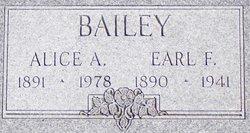 Earl F Bailey