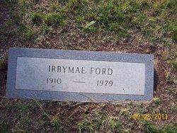 Irby Mae <i>Richardson</i> Ford