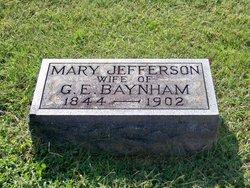 Mary Catherine <i>Jefferson</i> Baynham