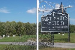 Saint Marys Immaculate Conception Cemetery New